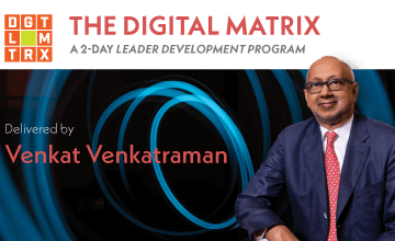 Digital Matrix Banner - Executive Education